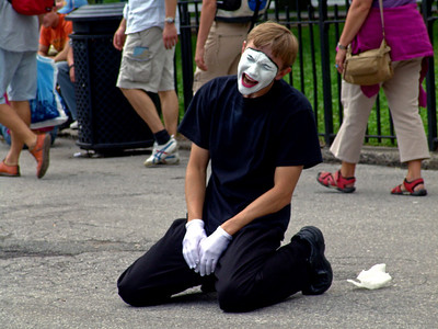 Mime, Battery Park NY