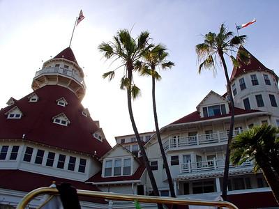 Coronado hotel, Coronado Island CA