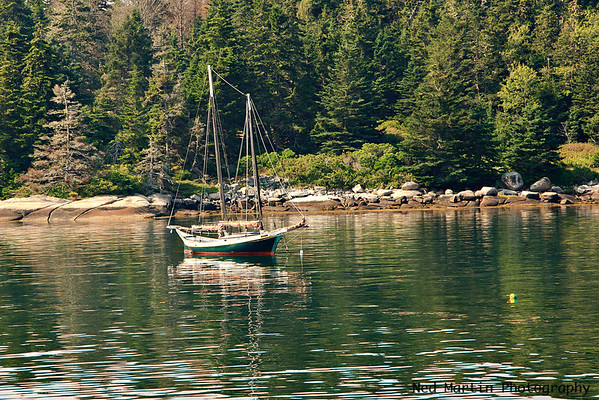 A Quiet Anchorage, Vinalhaven