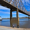 Eads Bridge over the Mississippi River, St. Louis