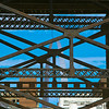View of the Gateway Arch through a Railroad Bridge, St. Louis, Missouri