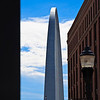 Street view of Gateway Arch, St. Louis
