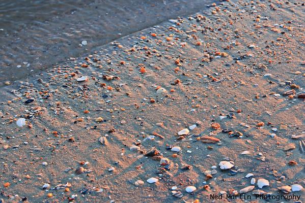 James River Beach at sunset, Kingsmill Resort