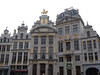 buildings, Grand Place<br /> <br /> many of the buildings around the Grand Place were once used by merchant guilds