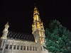 Hotel de Ville (Town Hall) at night, Grand Place