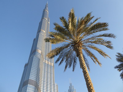 Around Burj Khalifa and Dubai Mall