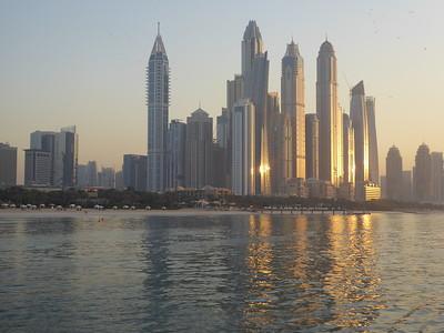 Dubai Marina and Sunset Cruise