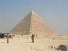 Richard, Khafra's pyramid