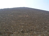 The Great Pyramid of Giza - The pyramid is staggeringly high.