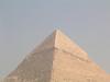 Lime cap, Khafra's pyramid