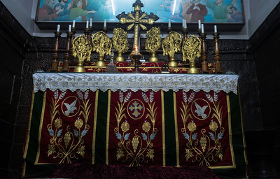 The church is believed to have been consecrated by St. Thomas the Apostle, in circa 63 AD which makes it the oldest Church structure in the world. The beautiful wooden structure is a hidden gem in the quaint town of Thiruvithamcode in Kanyakumari district.The altar on this Syrian Orthodox church is facing west, while preists face east, towards the altar and also direction of rising sun.