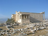 Erechtheum, Acropolis - Side view - looking towards the Parthenon