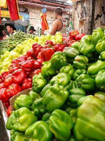 Mahane Yehuda Market, West Jerusalem