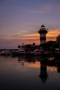 Harbour Town Lighthouse at The Sea Pines Resort, Hilton Head, South Carolina