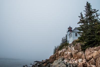 Bass Harbor Head Light, 1858