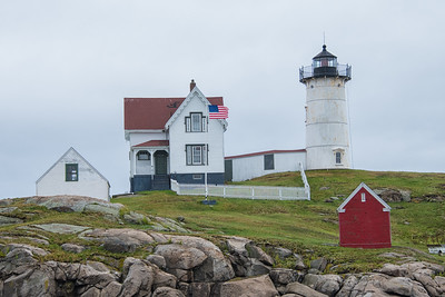 Nubble Lighthouse (Cape Neddick Light Station), 1879