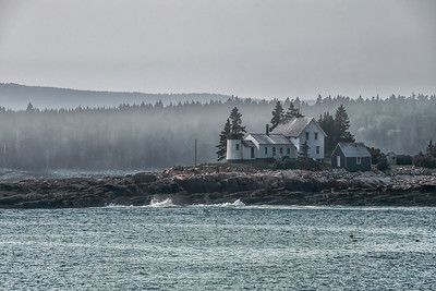 Winter Harbor Lighthouse, 1856