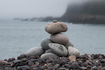 Cairn at Jasper Beach