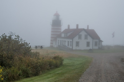 West Quoddy Head Light, 1858 - the easternmost point in the US