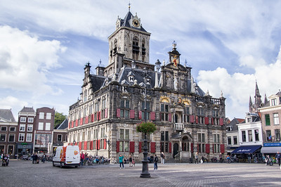 Stadhuis (City Hall), Delft, Netherlands