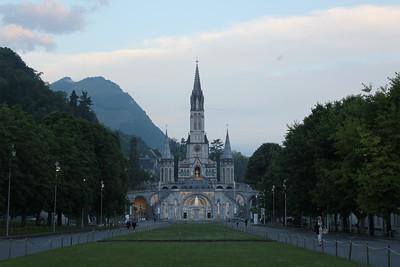 Crue du Gave de Pau à Lourdes