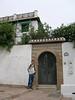 Moorish arched type doors plentiful - in the Albayzin area