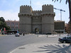 Torres de Serranos - An imposing, twin towered stone gate - all that remains of the old city walls