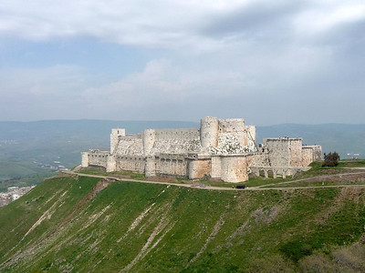 Krak des Chevaliers and St George's Monastery