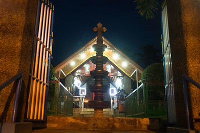 According to legend, Christianity arrived in South India around AD 52 through St. Thomas, one of the twelve Apostles of Christ. The church is believed to have been consecrated by St. Thomas the Apostle, circa 63 AD. The beautiful wooden structure is a hidden gem in the quaint town of Thiruvithamcode in Kanyakumari district.