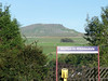 Horton in Ribblesdale train station with Pen-y-ghent in the distance