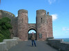 Richard, Bamburgh Castle gate