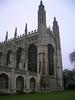 Chapel - rear - King's College