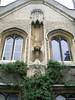 Beuatiful angel sculpture - Peterhouse College