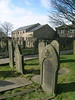 Cemetary, Old Church, built 13th century - Heptonstall