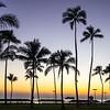 O'ahu Sunset at the Beach Park