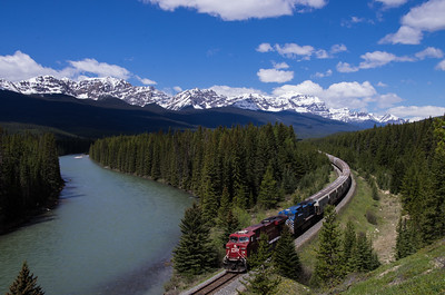 Train Travel Through the Rockies