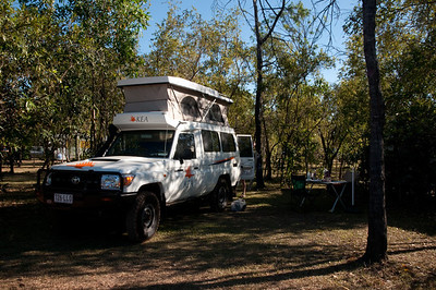 Safari Camping at Litchfield