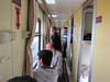 1st class cabin hallway and cabins on right. 6/6/2012