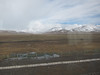 Highest train in the world.  At the Tibet/China border the elevation was 16,640'.  Views of Tibet from the train. 6/5/2012