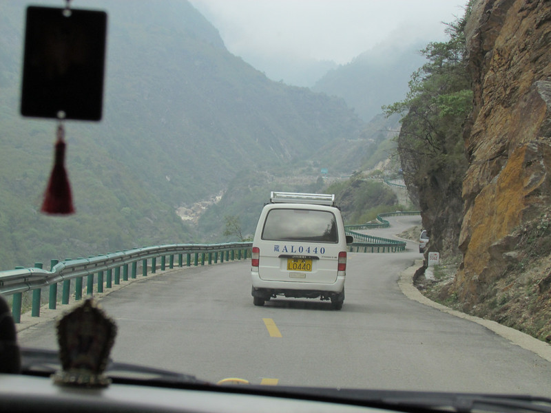 We are in Tibet! Good roads.  5/28/2012