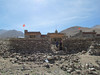 Rocky area and typical style of home in this area of Tibet, 5/29/2012