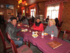 Guide Gyaltsen and driver Dsenor and Shirley having dinner, 12,000' elevation, Nyalam, Tibet, 5/28/2012
