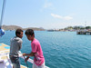 Leaving port to take an overnight boat trip to see Komodo Dragons, Indonesia, 9/18/2012