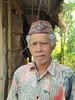 Elder of the Manggarai village that we visited 9/20/2012