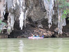 Weird formations of rock, Phang-Nga Bay National Park, Thailand, 8/18/2012