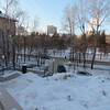 Walking to dinner in Khabarovsk, 1/14/2013