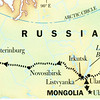 We took the Siberian Railway from Khabarovsk to Moscow and St Petersburg, all the way across Siberia and Russia!  Along the way we got off at several cities to tour the area.  1/15 - 2/3/2013
