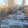 View of playground (note slide with ice/snow landing) from our hotel of Khabarovsk, Siberia, Russia, 1/14/2013