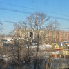 View of Kabarovsk from the train, 1/15/2013
