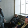 Ken, Shirley and Gary in the train station, Khabarovsk, Siberia, Russia, 1/15/2013, Sandy's picture